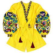 "Одежда handmade. Livemaster - original item Комбинезон ""Цветочная Нимфа"". Handmade."