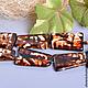 Агат `Шкура леопарда`, форма трапеция Примерный размер 20х30 мм Цена за шт. 90 руб.