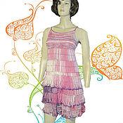 Одежда ручной работы. Ярмарка Мастеров - ручная работа сарафан Летние цветы. Handmade.