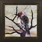 """Картины и панно ручной работы. Ярмарка Мастеров - ручная работа Коллекция панно """"Птицы"""" (стеклянная мозаика). Handmade."""