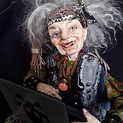 Куклы и пупсы ручной работы. Ярмарка Мастеров - ручная работа Баба Яга блогерша. Handmade.