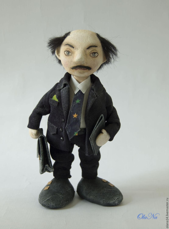 Коллекционные куклы ручной работы. Ярмарка Мастеров - ручная работа. Купить Босс большой и очень важный. Handmade. Подарок для мужчины