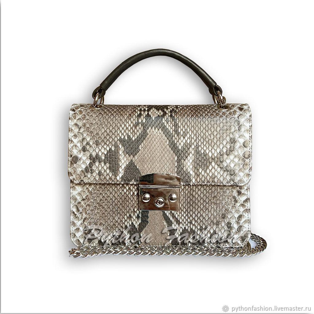 Handbag made of Python PRIME, Crossbody bag, Kuta,  Фото №1