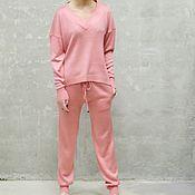 Одежда handmade. Livemaster - original item Cashmere suit Pastel. Handmade.