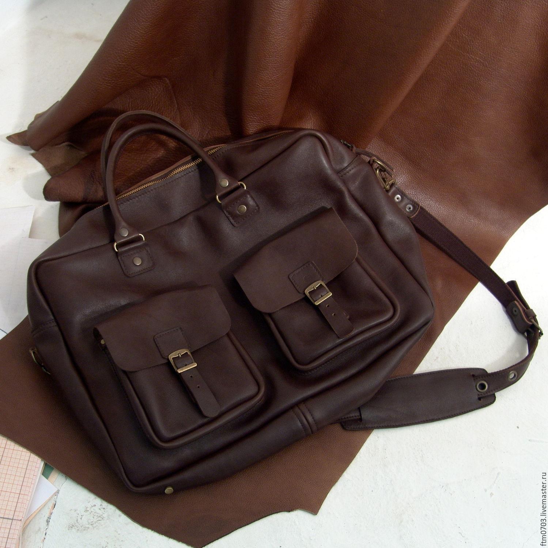 4532dc35473e Мужские сумки ручной работы. Ярмарка Мастеров - ручная работа. Купить  Мужская сумка