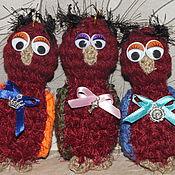 Куклы и игрушки ручной работы. Ярмарка Мастеров - ручная работа вязанные животные-малыши-погремушки. Handmade.