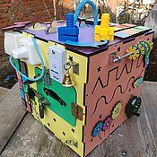 """Бизиборды ручной работы. Ярмарка Мастеров - ручная работа Бизикуб """"звездный"""". Handmade."""