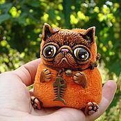 Куклы и игрушки ручной работы. Ярмарка Мастеров - ручная работа Рыжий кот. Handmade.