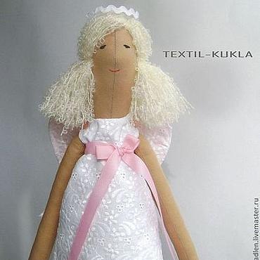Куклы и игрушки ручной работы. Ярмарка Мастеров - ручная работа Ангел-хранитель(60см) - текстильная кукла для интерьера. Handmade.