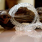 Украшения handmade. Livemaster - original item Beads with rock crystal. Handmade.