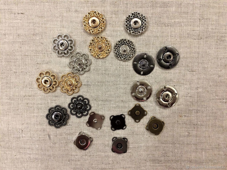 Кнопки пришивные 19-21мм №1 металлические, Материалы, Балашиха, Фото №1