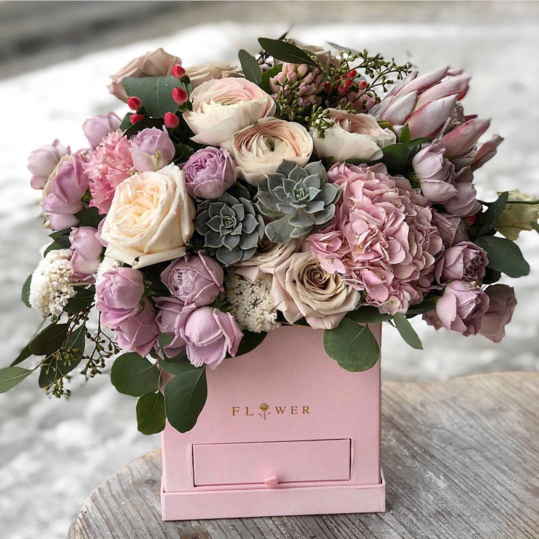 Картинки по запросу цветы в коробке