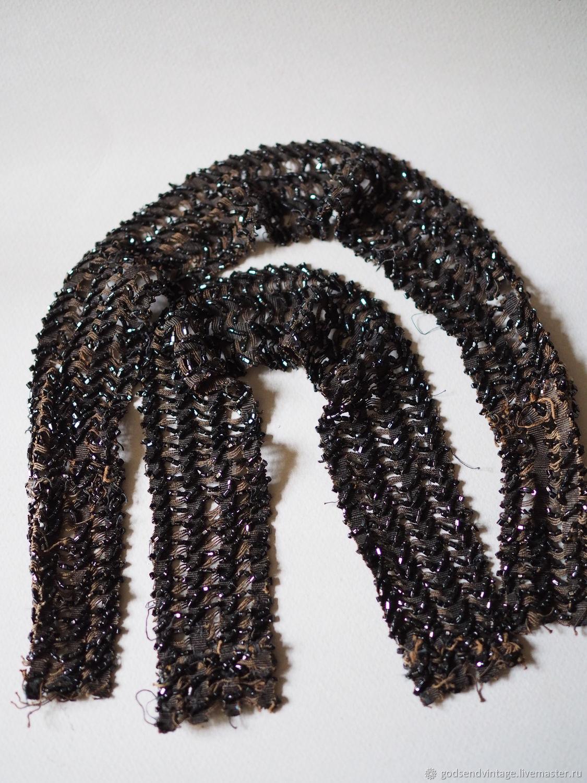 Vintage beaded braid, Vintage fabrics, St. Petersburg,  Фото №1