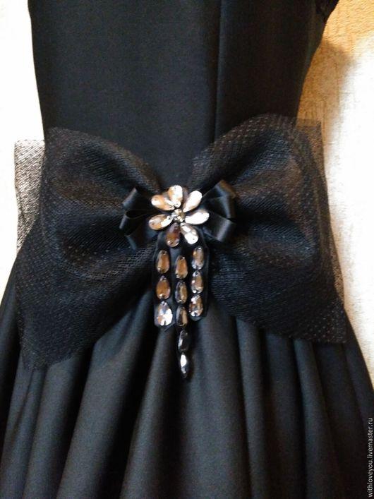 Платья ручной работы. Ярмарка Мастеров - ручная работа. Купить Платье для торжественного случая.. Handmade. Черный, Платье нарядное, сетка