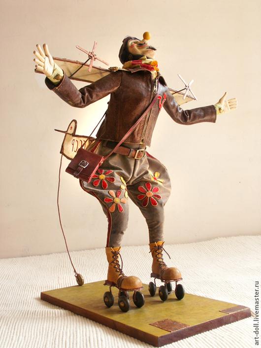"""Коллекционные куклы ручной работы. Ярмарка Мастеров - ручная работа. Купить """"А мне летать охота"""". Handmade. Коллекционные куклы"""