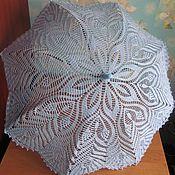 Аксессуары handmade. Livemaster - original item Pale blue umbrella, with a drawstring.. Handmade.