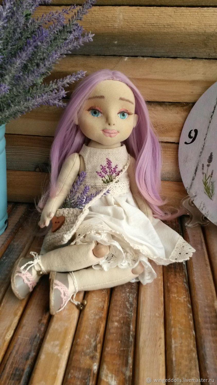 Лавандовая фея, Портретная кукла, Ухта,  Фото №1
