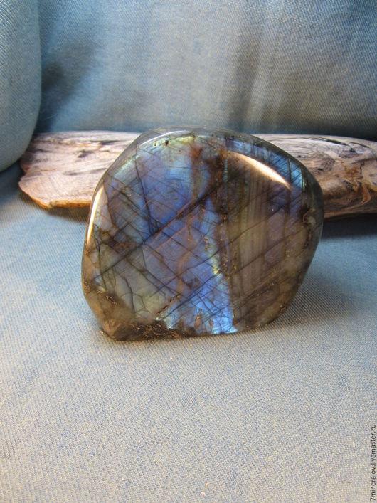 """Минералы, друза ручной работы. Ярмарка Мастеров - ручная работа. Купить 926гр. Лабрадор """"Синий"""" Лабрадорит - природный камень. Handmade."""