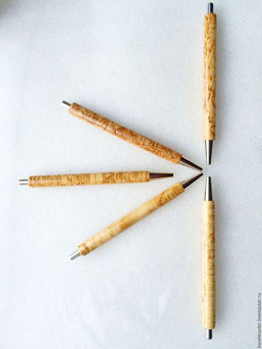 Карандаши, ручки ручной работы. Ярмарка Мастеров - ручная работа. Купить Ручка. Handmade. Карельская береза, сувенир, письменный прибор