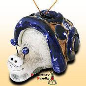 Сувениры и подарки handmade. Livemaster - original item Snail ceramic bell. Handmade.