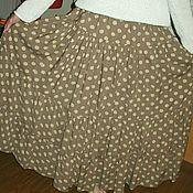 Одежда ручной работы. Ярмарка Мастеров - ручная работа Женская юбка горохи. Handmade.