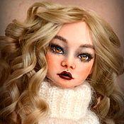 Куклы и игрушки ручной работы. Ярмарка Мастеров - ручная работа Аврора фарфоровая шарнирная кукла. Handmade.