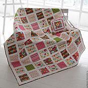 Для дома и интерьера handmade. Livemaster - original item Quilt with pillow case