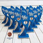 Сувениры и подарки handmade. Livemaster - original item Statuettes-cups for competitions and events. Handmade.