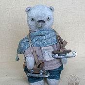 Куклы и игрушки handmade. Livemaster - original item Teddy Bear little Northern Bear. Handmade.