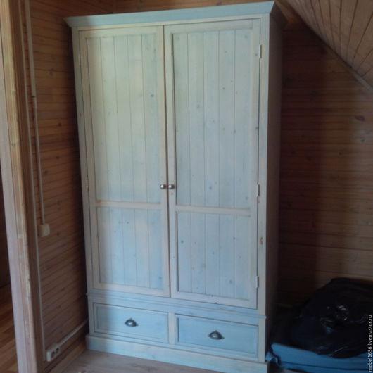 Мебель ручной работы. Ярмарка Мастеров - ручная работа. Купить Шкаф для одежды. Handmade. Комбинированный, эмаль