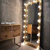 Для дома и интерьера handmade. Livemaster - original item Make-up mirror JOHN GOLD. Handmade.