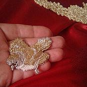 Одежда ручной работы. Ярмарка Мастеров - ручная работа Птицы в золоте. Handmade.