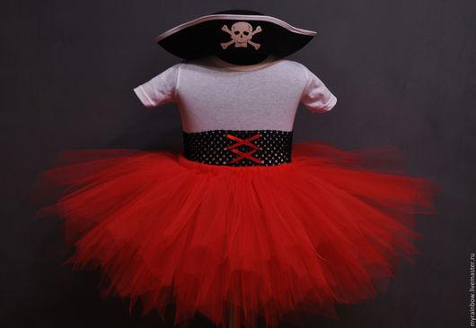 """Юбки ручной работы. Ярмарка Мастеров - ручная работа. Купить Костюм """"Весёлая пиратка"""". Handmade. Юбка, юбка пачка, пират"""