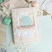 Канцелярские товары ручной работы. Ярмарка Мастеров - ручная работа Блокнот для молодой мамы. Handmade.