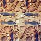 Ракушки, рыбки, морские коньки - салфетка для декупажа Декупажная радость