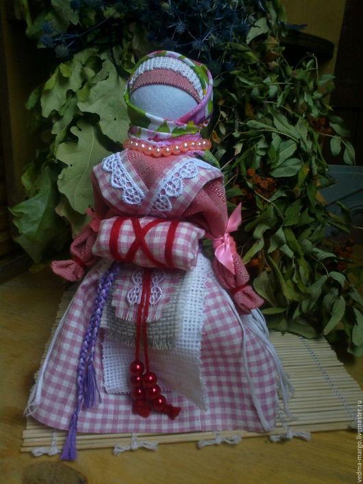 Народные куклы ручной работы. Ярмарка Мастеров - ручная работа. Купить Обережная кукла - Беременная.. Handmade. Комбинированный, кукла текстильная