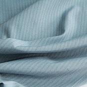 Ткани ручной работы. Ярмарка Мастеров - ручная работа Костюмно-плательная ткань шелк-лен Lora Piana,цвет серо-голубой. Handmade.