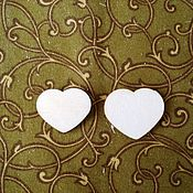 Материалы для творчества ручной работы. Ярмарка Мастеров - ручная работа Сердечки маленькие. Handmade.