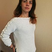 Одежда handmade. Livemaster - original item Blouse cotton summer. Handmade.