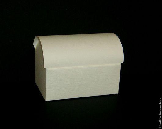 Упаковка ручной работы. Ярмарка Мастеров - ручная работа. Купить Сундучок 13x9x9,5 cм. Handmade. Белый, упаковка