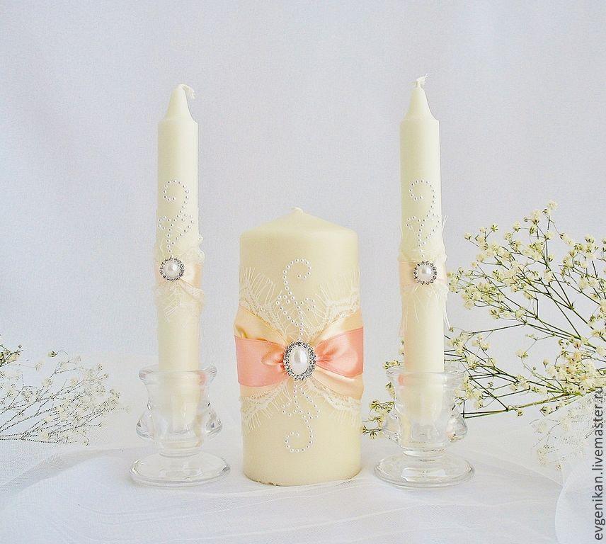 свечи фото свадебные