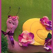 Куклы и игрушки ручной работы. Ярмарка Мастеров - ручная работа Мисс Улитка. Handmade.