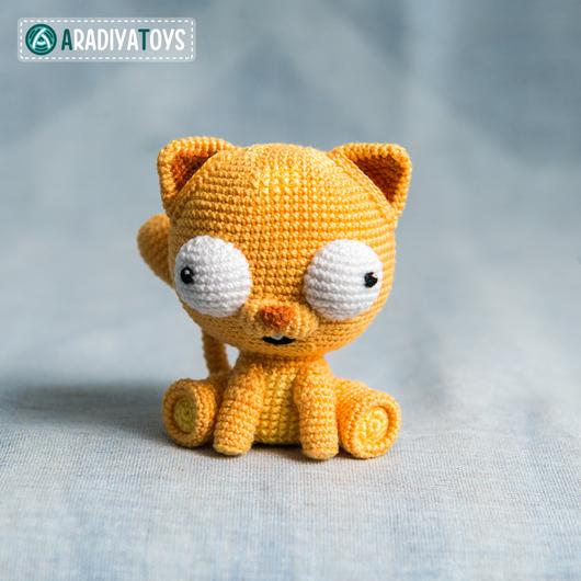 Вязание ручной работы. Ярмарка Мастеров - ручная работа. Купить Мастер-класс по созданию котёнка Мартина. Handmade. Кот
