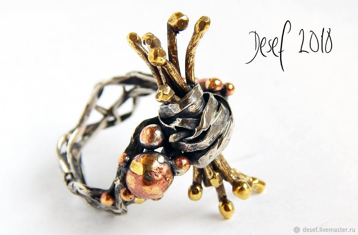 Ring ' Firewood', Rings, Kurgan,  Фото №1