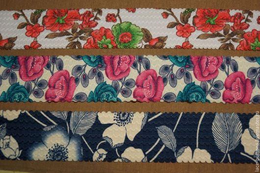 Шитье ручной работы. Ярмарка Мастеров - ручная работа. Купить Резинка декоративная 5,5см (3 вида). Handmade. Резинка