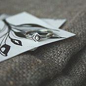 Украшения ручной работы. Ярмарка Мастеров - ручная работа Кольцо Умножение, серебро 925, минимализм. Handmade.