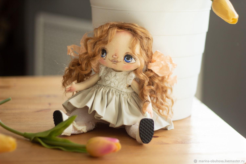 Кукла текстильная Агния, Портретная кукла, Благовещенск,  Фото №1