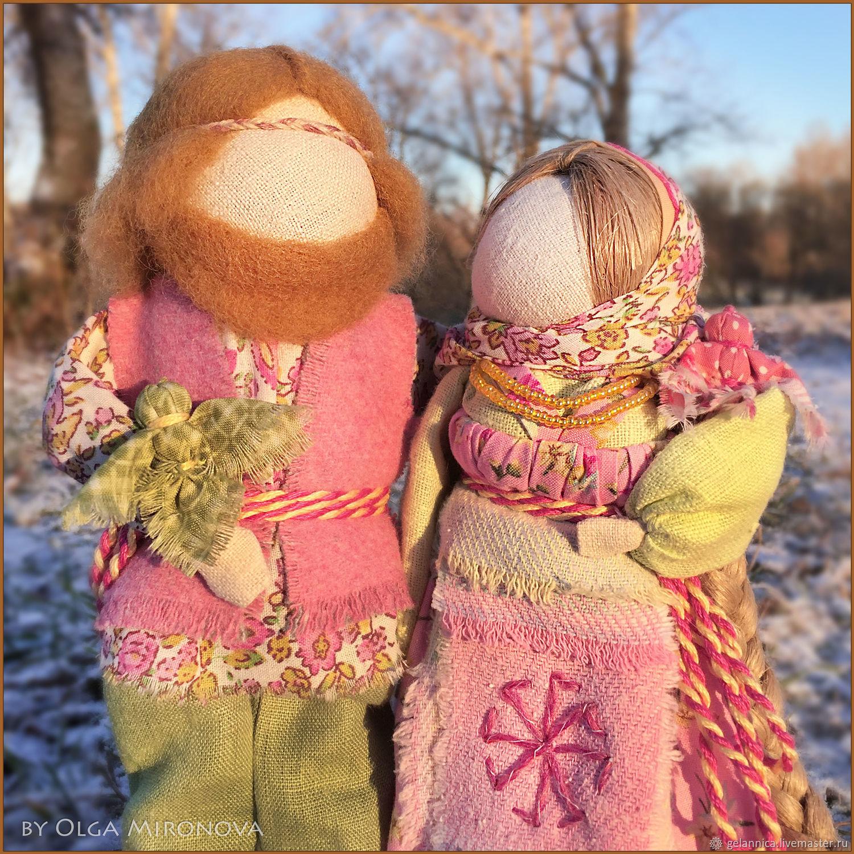 Лада и Ладо, Народная кукла, Санкт-Петербург,  Фото №1
