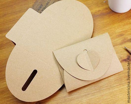 Упаковка ручной работы. Ярмарка Мастеров - ручная работа. Купить Конверты  для упаковки крафт 2. Handmade. Бежевый, упаковка
