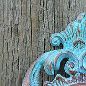 """Для дома и интерьера ручной работы. Ярмарка Мастеров - ручная работа Зеркало в винтажной раме """"Ваше величество"""". Handmade."""